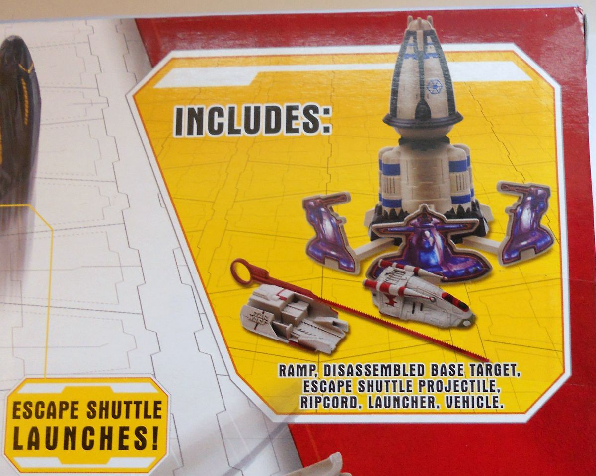 Image 2 of Star Wars Assault On General Grievous Playset Micro Machines Speed Stars