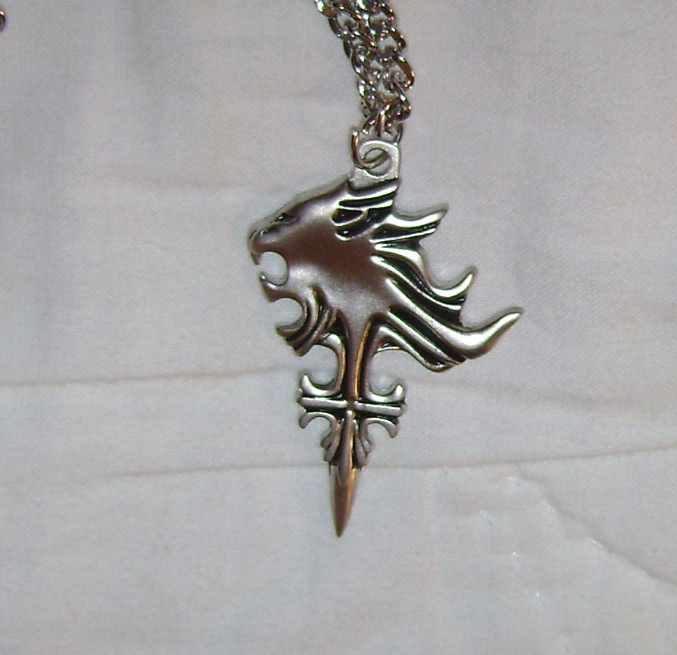 viii squall griever pendant necklace new