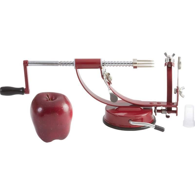 how to clean apple peeler corer slicer