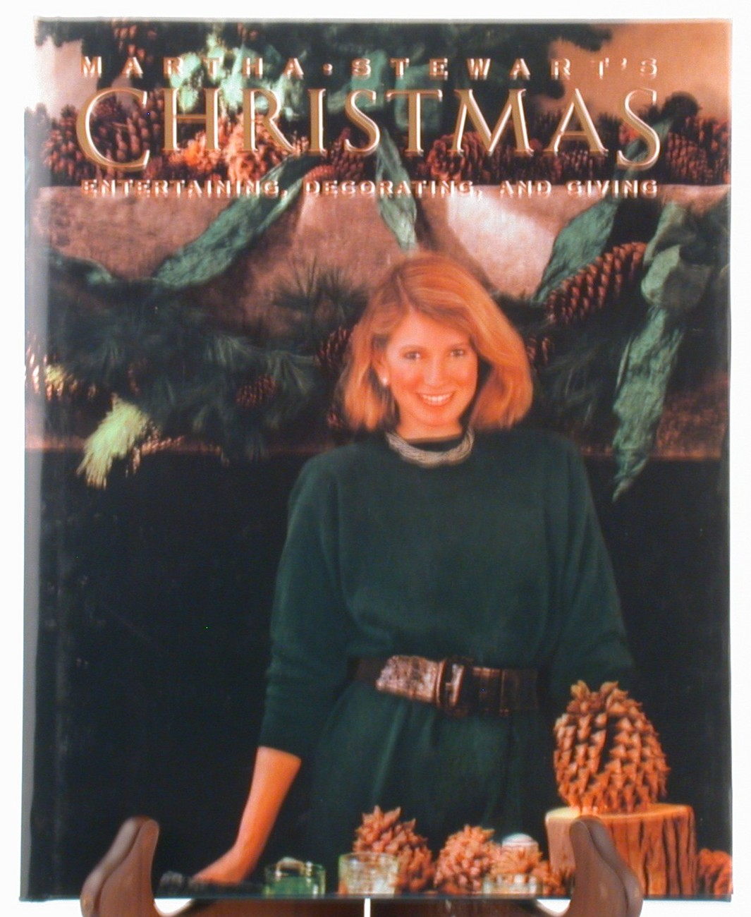 Martha stewart s christmas 1989 cookbook home decorating crafts cookie
