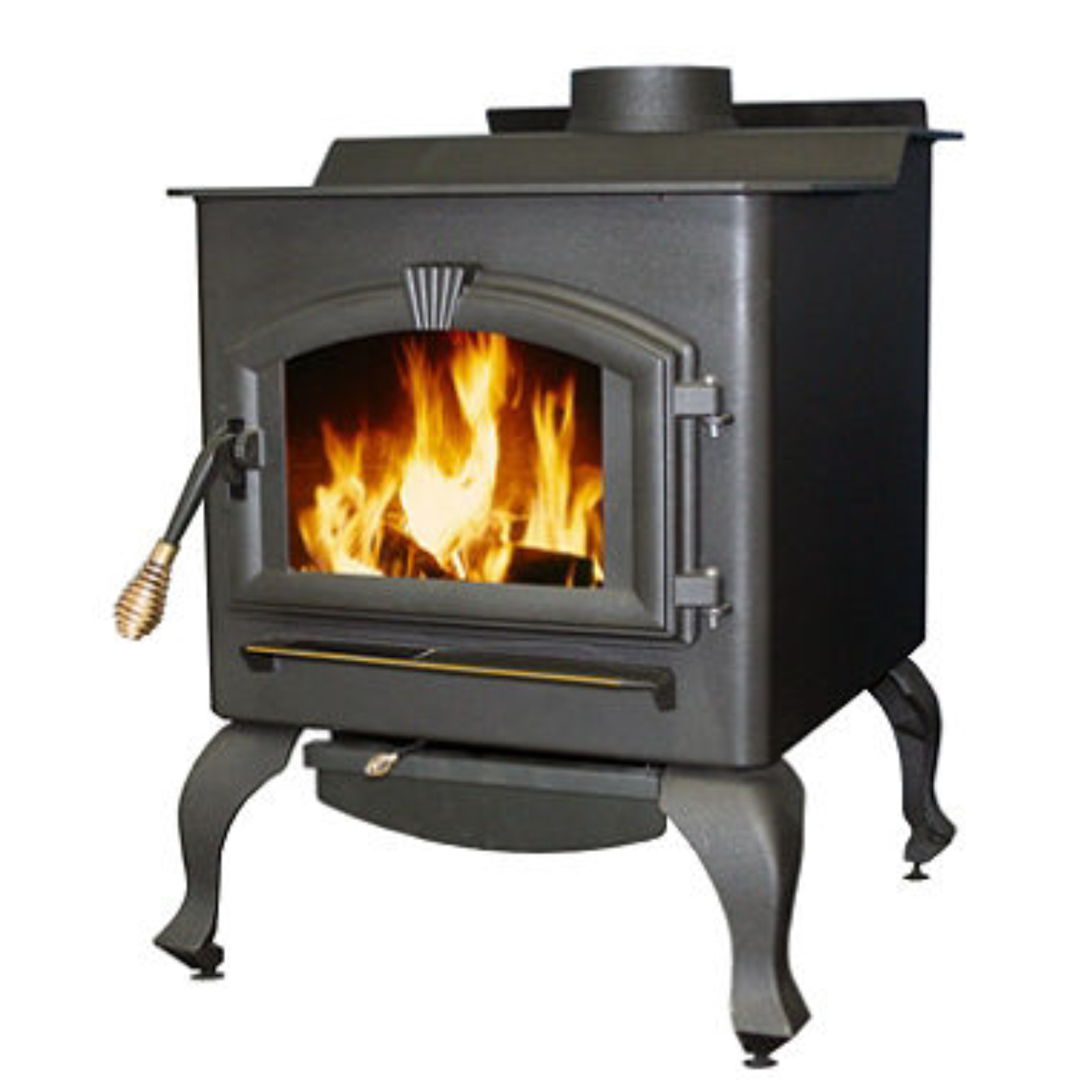 Large Stove With Blower 1a