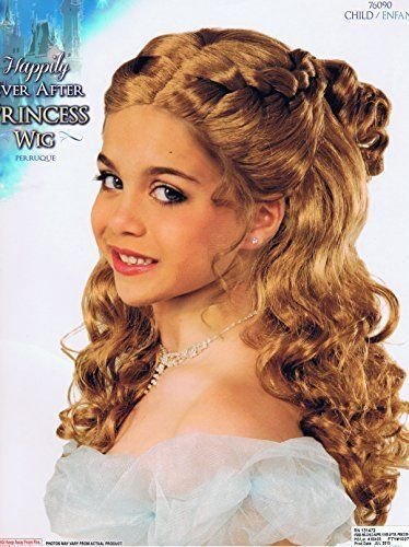 Happily Ever After Princess Long Blonde Child Wig by Forum
