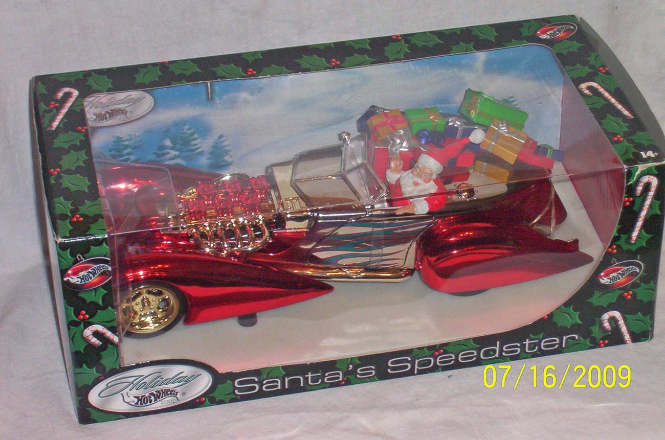 Santasspeedsterhotwheels