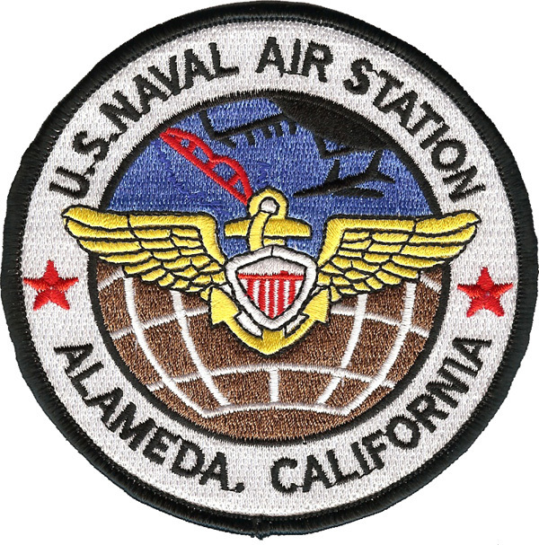 US Navy Alameda Naval Air Station California Patch
