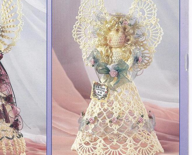 Free Crochet Pattern Leaflets : RARE~Angels of Grace Crochet Pattern Leaflet~4 designs~HTF ...