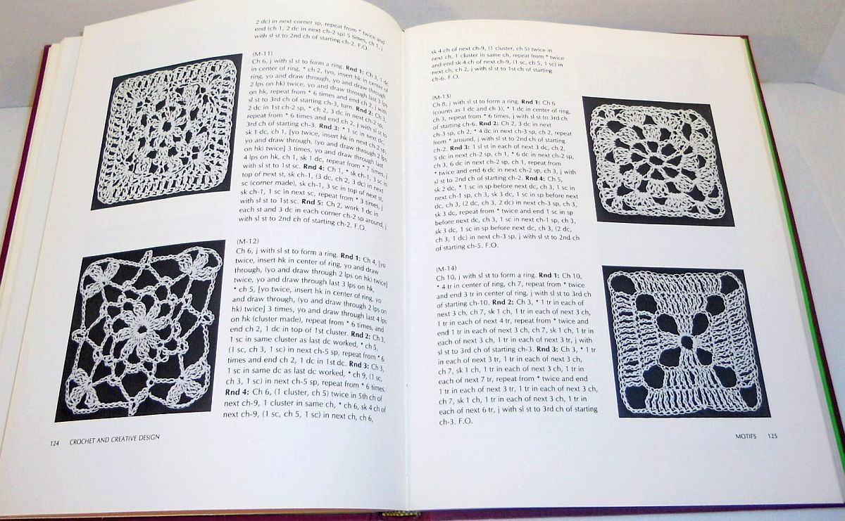 Image 4 of Crochet and Creative Design by Annette Feldman HC 1st ed 1973