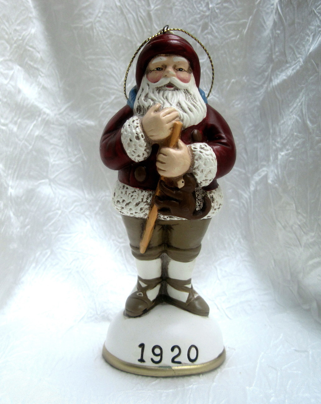 Christmas Reproductions Santa Claus Figurine Ornament 1920