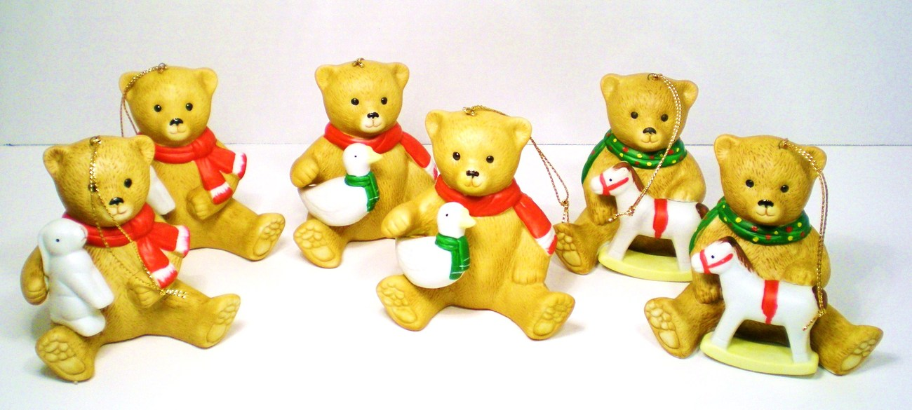 '.Teddy Bear Ornaments.'