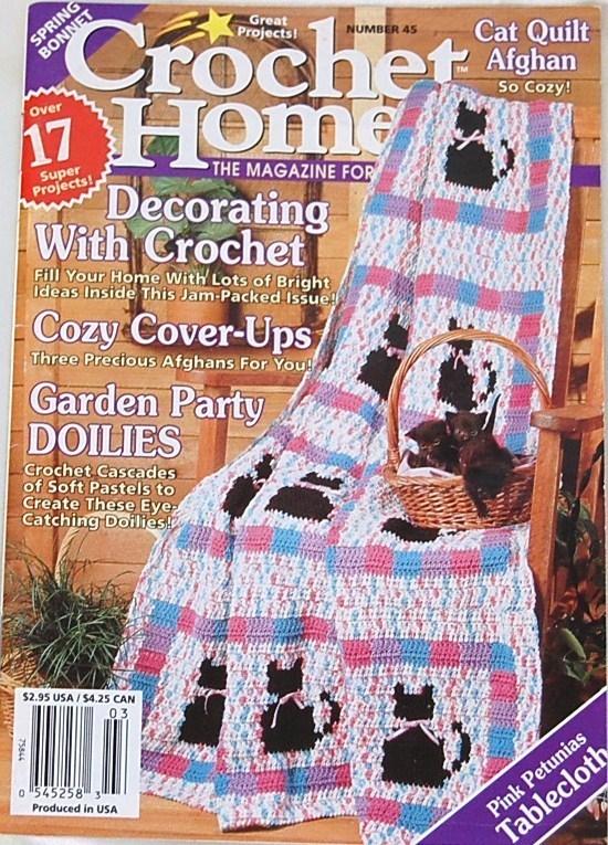 Crochet Home Magazine : Crochet Home Magazine Feb. - Mar. 1995 No. 45 - Mixed Crochet