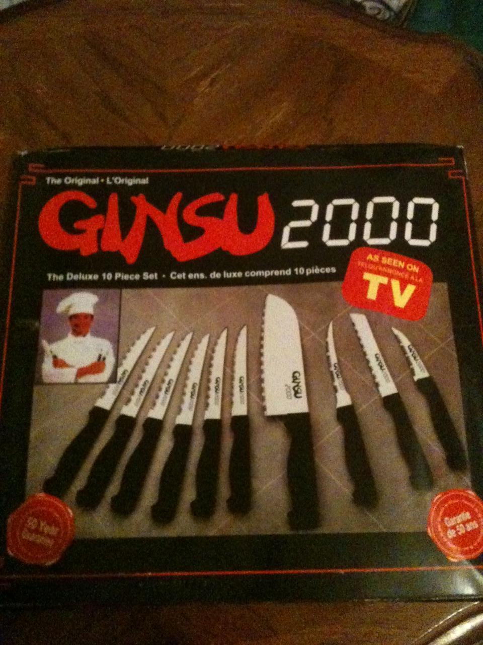 ORIGINAL GINSU 2000 AS SEEN ON TV DELUXE 10 PIECE KNIFE