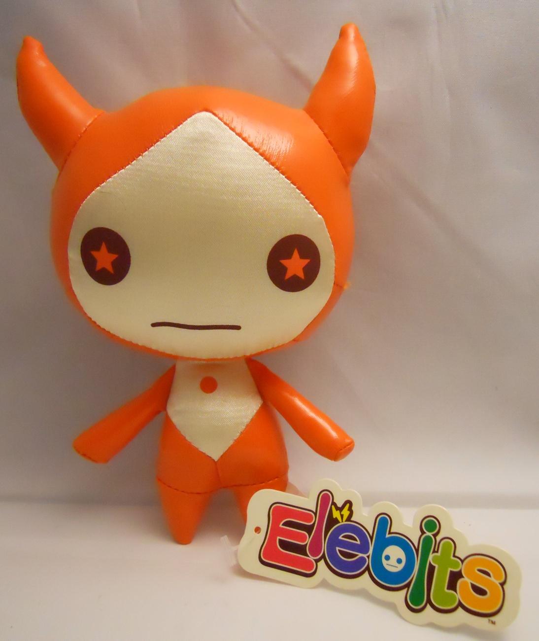 2006 Elebits Nintendo Wii Orange Character Doll Promo