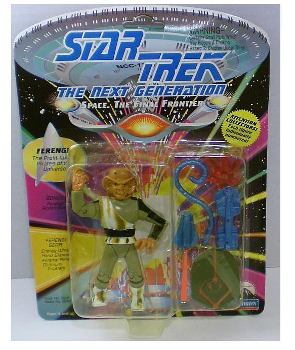 Star Trek TNG Ferengi Action Figure 1992 Series 1, 1992