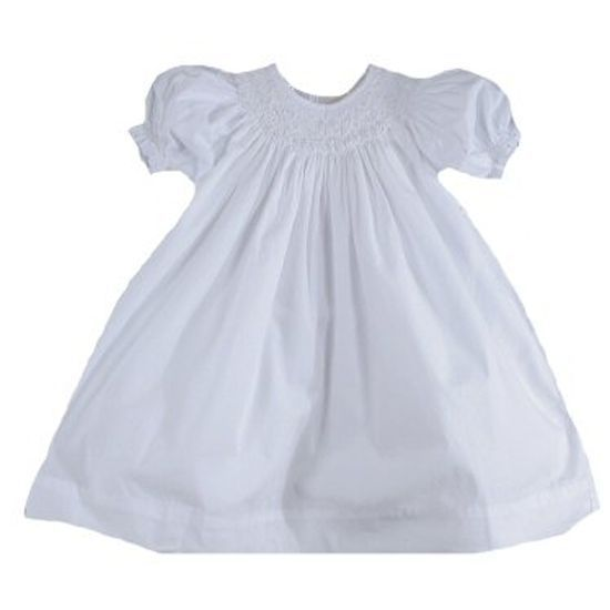 Image 0 of Gorgeous Petit Ami White Heirloom Boutique Lined Party Dress, Wedding - White -