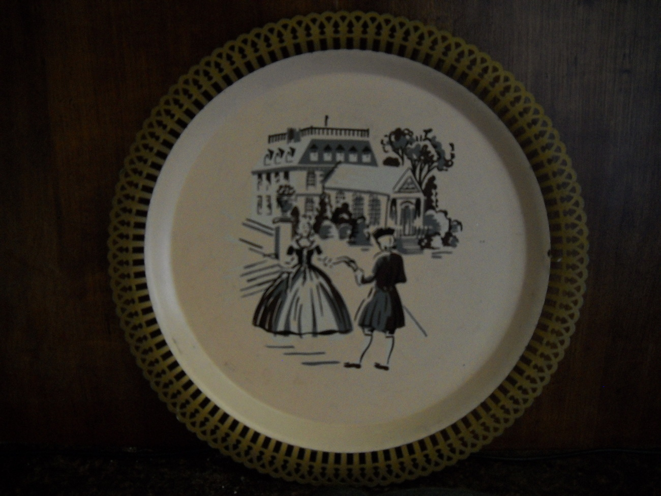 Social Supper Tray, Coshocton, Ohio