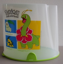 Retired_pokemon_tupperware_cereal_keeper_pantry_meganium_bayleef_chikorita_thumb200