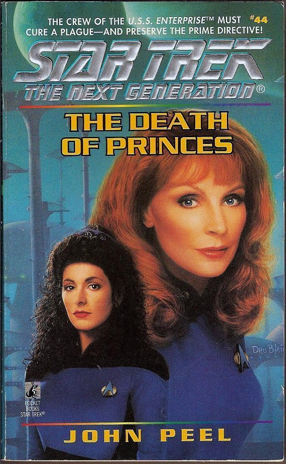 The Death of Princes 44 Star Trek Next Generation PB 1996