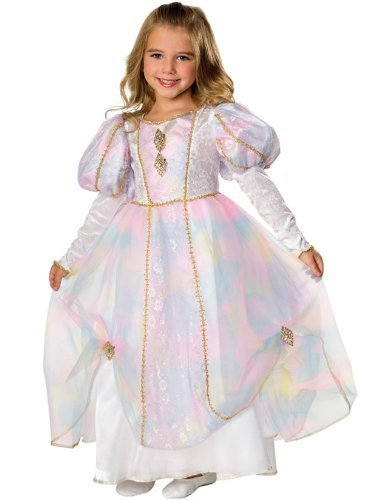 Image 0 of Rainbow Princess Dress Child, Rubies