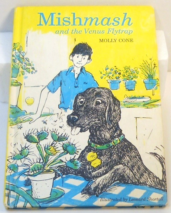 Mishmash and the Venus Flytrap by Molly Cone 1976 HC children