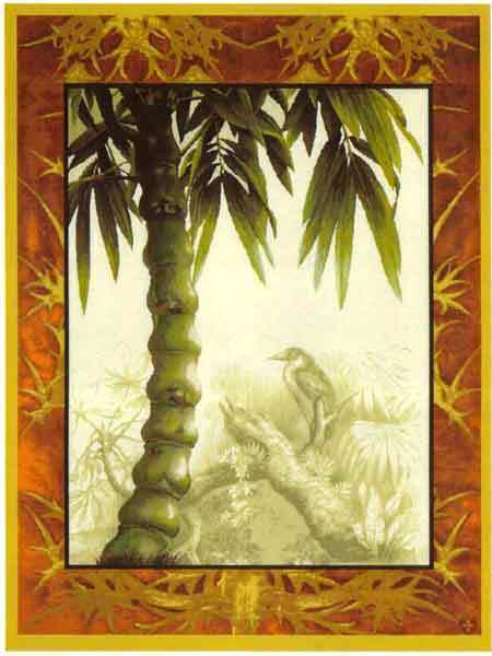 60x44 PALM TREE Tropical Jungle Tapestry Wall Hanging