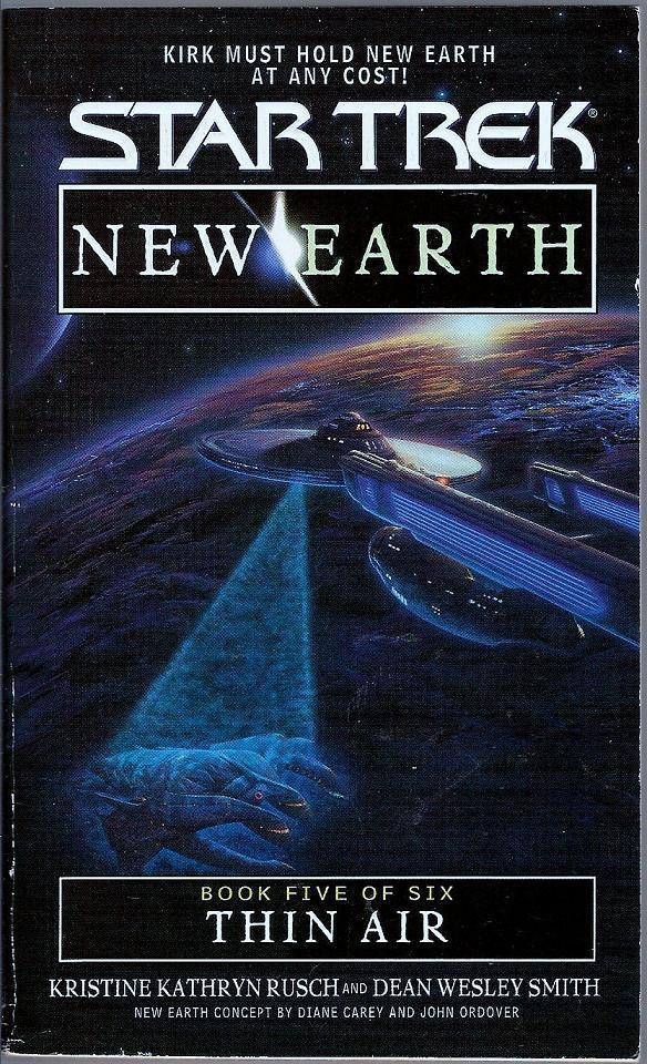 Thin Air Star Trek New Earth Book 5 PB 2000