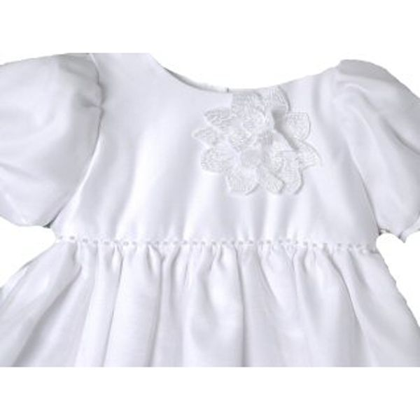 Image 1 of Stunning Baby Girl Unique Angels Floral Lace Boutique Christening Gown/Hat Set -