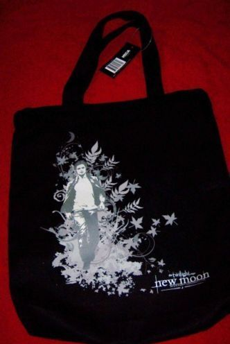 Twilight New Moon Spartans & Edward Tote Bag Set of 2 Tote Bags NEW NECA Bonanza