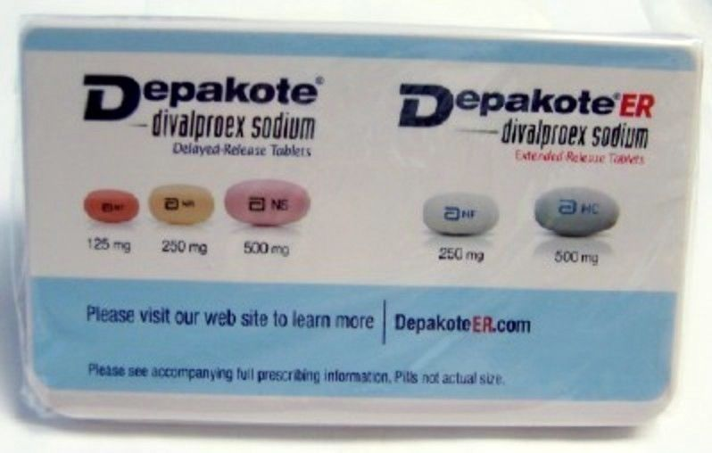 DEPAKOTE ER DRUG REP LOGO COLLECTIBLE JUMBO CLIP MAGNET