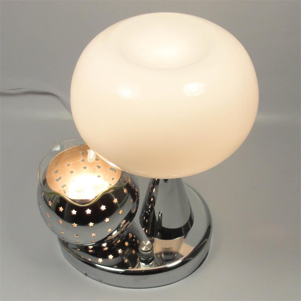 White Electric Oil Or Tart Warmer And Lamp