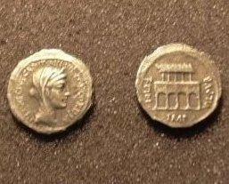 (RR-23) Denarius of Fontus Capito  COPY Bonanza