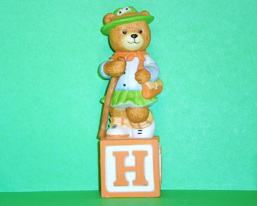 Alpha Block Bears Bronson Collectibles block H 1992