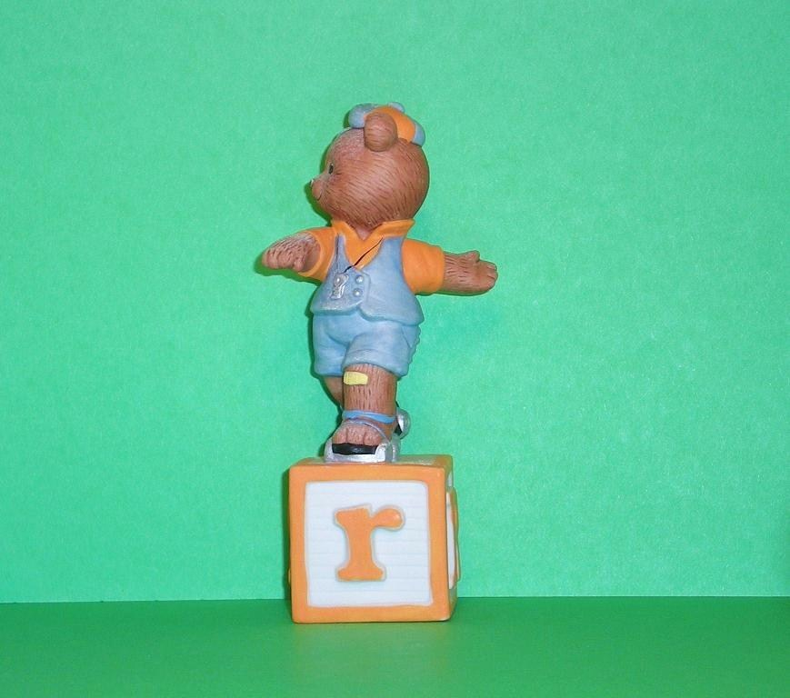 Image 1 of Alpha Block Bears Bronson Collectibles block R 1993