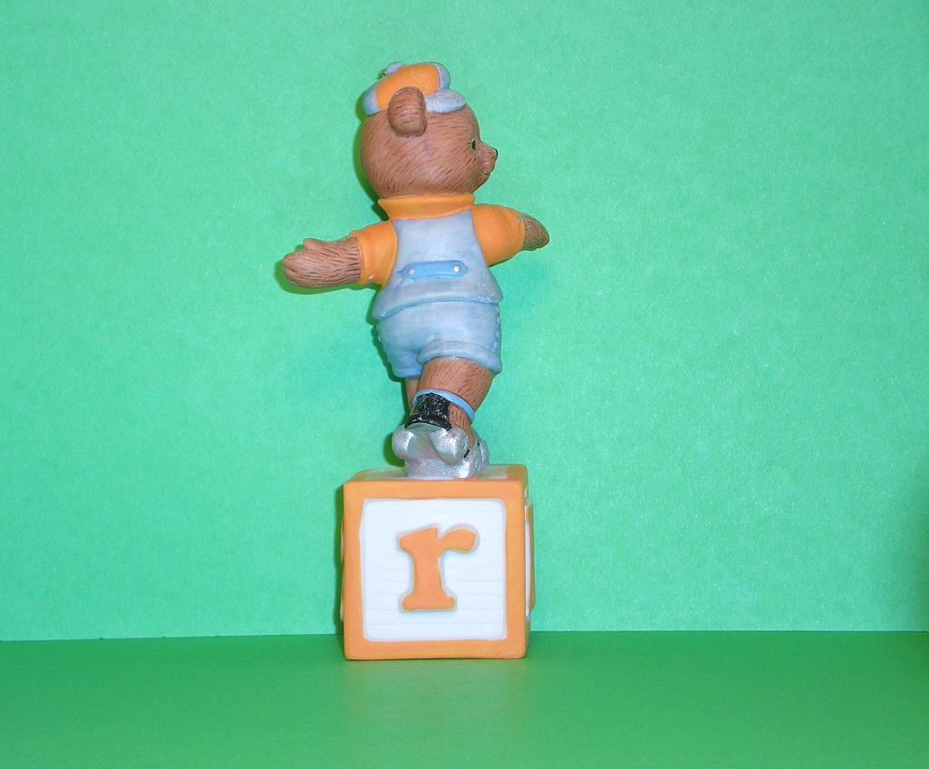 Image 3 of Alpha Block Bears Bronson Collectibles block R 1993