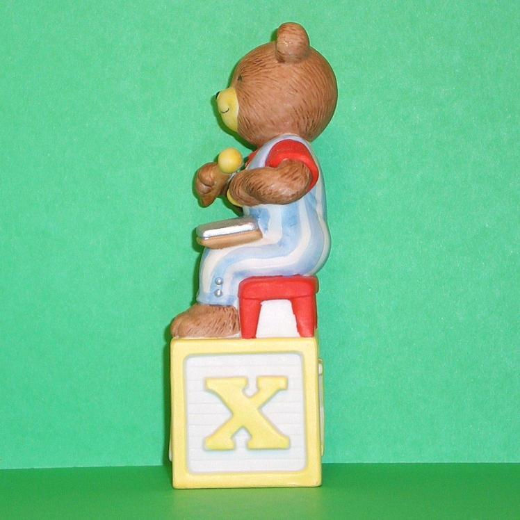 Image 1 of Alpha Block Bears Bronson Collectibles block X 1994