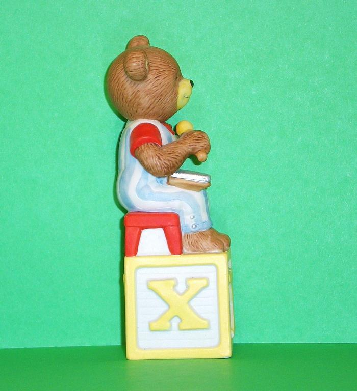 Image 3 of Alpha Block Bears Bronson Collectibles block X 1994
