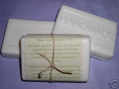 4 oz SHEA MANGO COCOA BUTTER SOAP Lotion Body Bar 100% All Natural Bonanza