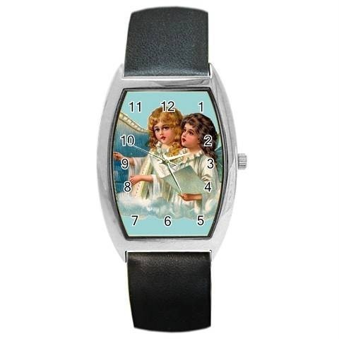 ANGELS & HARPS CHRISTMAS BARREL WATCH 8 OTHER STYLES  Bonanza