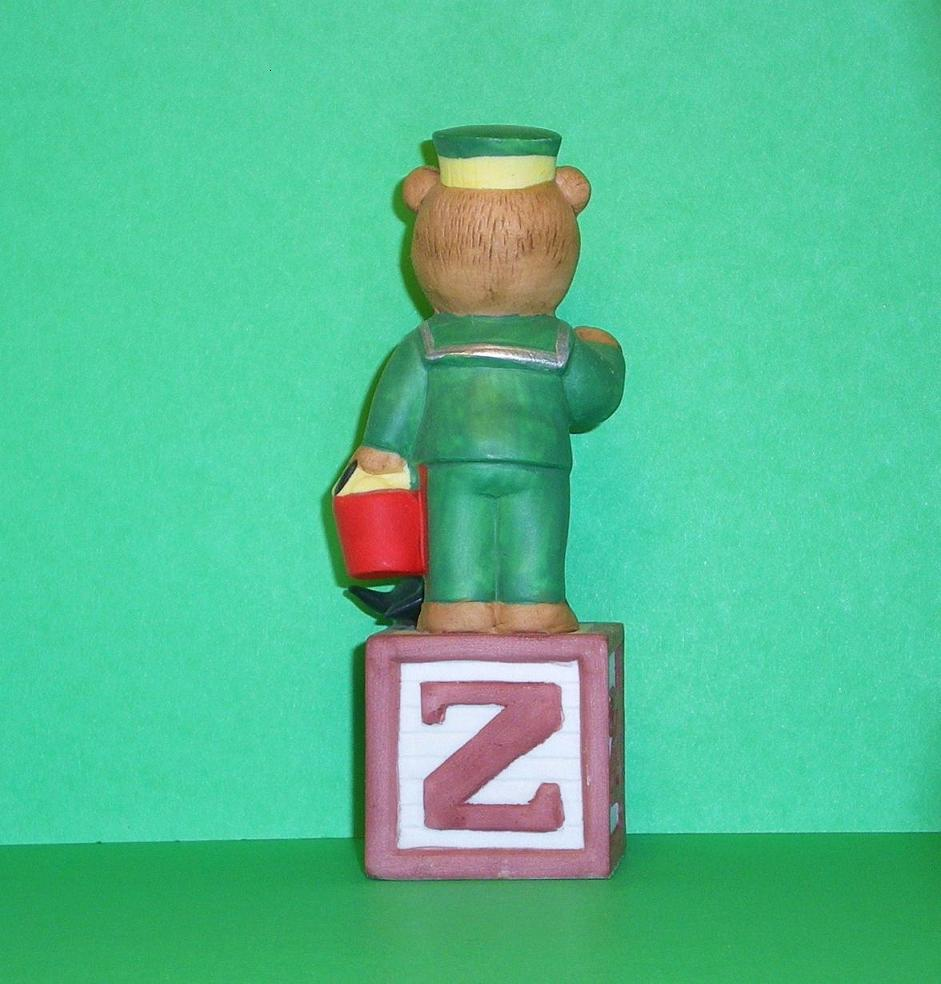 Image 2 of Alpha Block Bears Bronson Collectibles block Z 1992