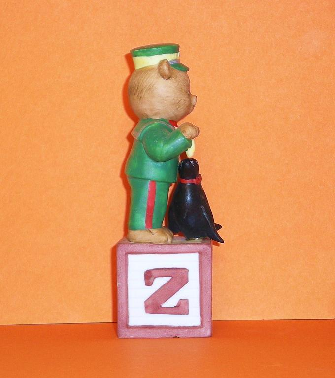 Image 3 of Alpha Block Bears Bronson Collectibles block Z 1992