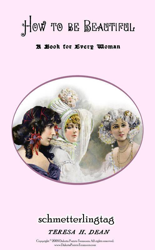 Victorian Era Book Shampoo Recipes Hair Care Beauty1899 Bonanza
