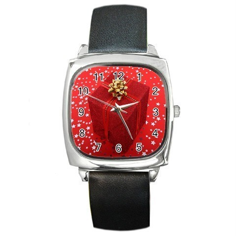 RED GIFT BOX GOLD BOW CHRISTMAS WATCH 8 OTHER STYLES  Bonanza