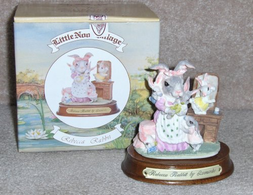 REBECCA RABBIT~LITTLE NOOK VILLAGE by LEONARDO