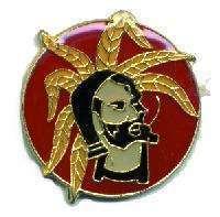 12 Pins - ZIG ZAG MAN cigarette papers smoking pin 1910 Bonanza