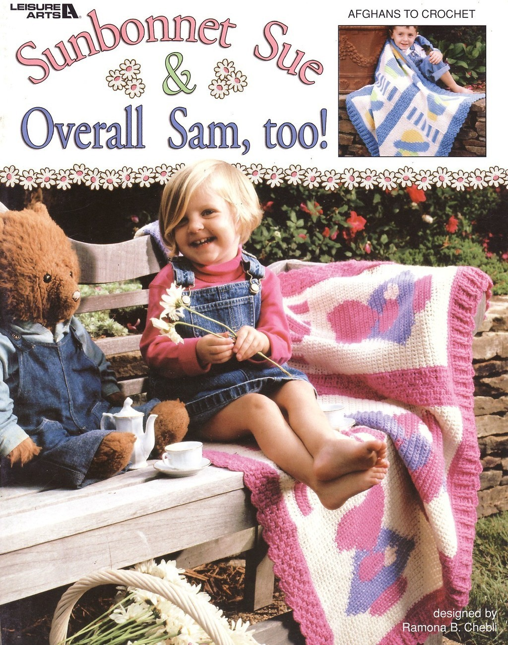 Sunbonnet Sue & Overall Sam Too Afghan Crochet Patterns Book
