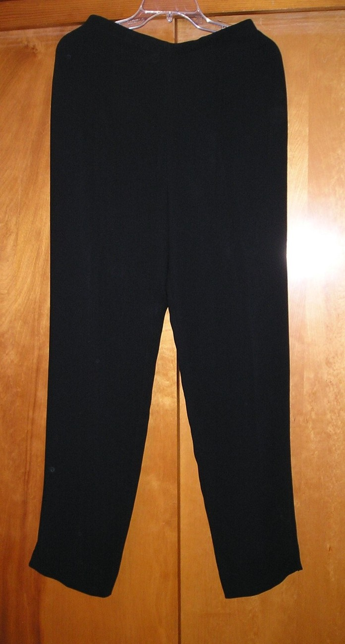NEW Women's TALBOTS Dress Black Pants 8 / M $100  Bonanza