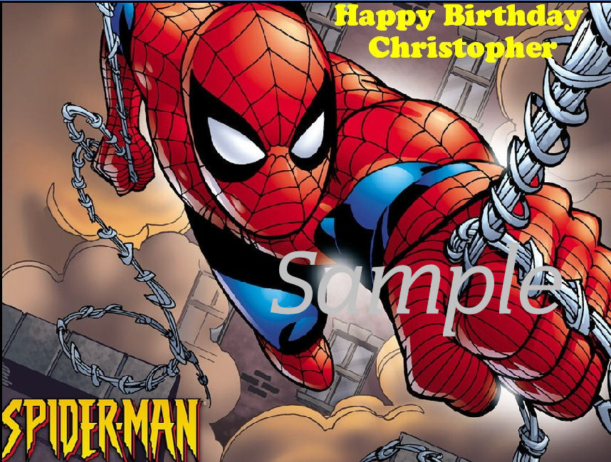 Spiderman Cake Toppers Lookup Beforebuying