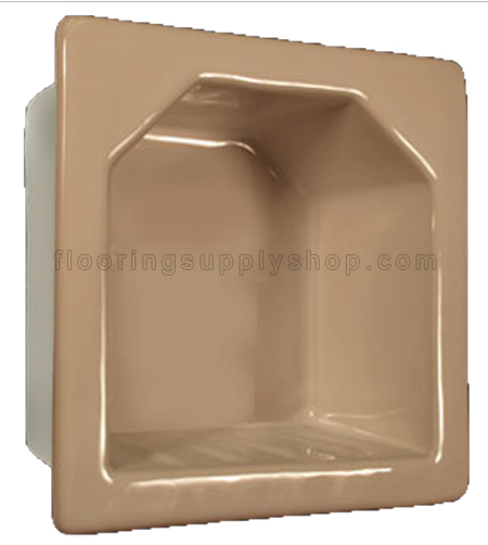 Porcelain Hotel Mini Soap Dish 6x6 - Premium Colors Bonanza