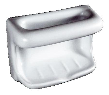 Porcelain Soap Dish with Wash Cloth - Premium Colors Bonanza