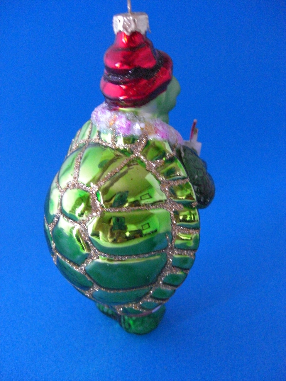 Mr turtle beach blown glass christmas ornament other