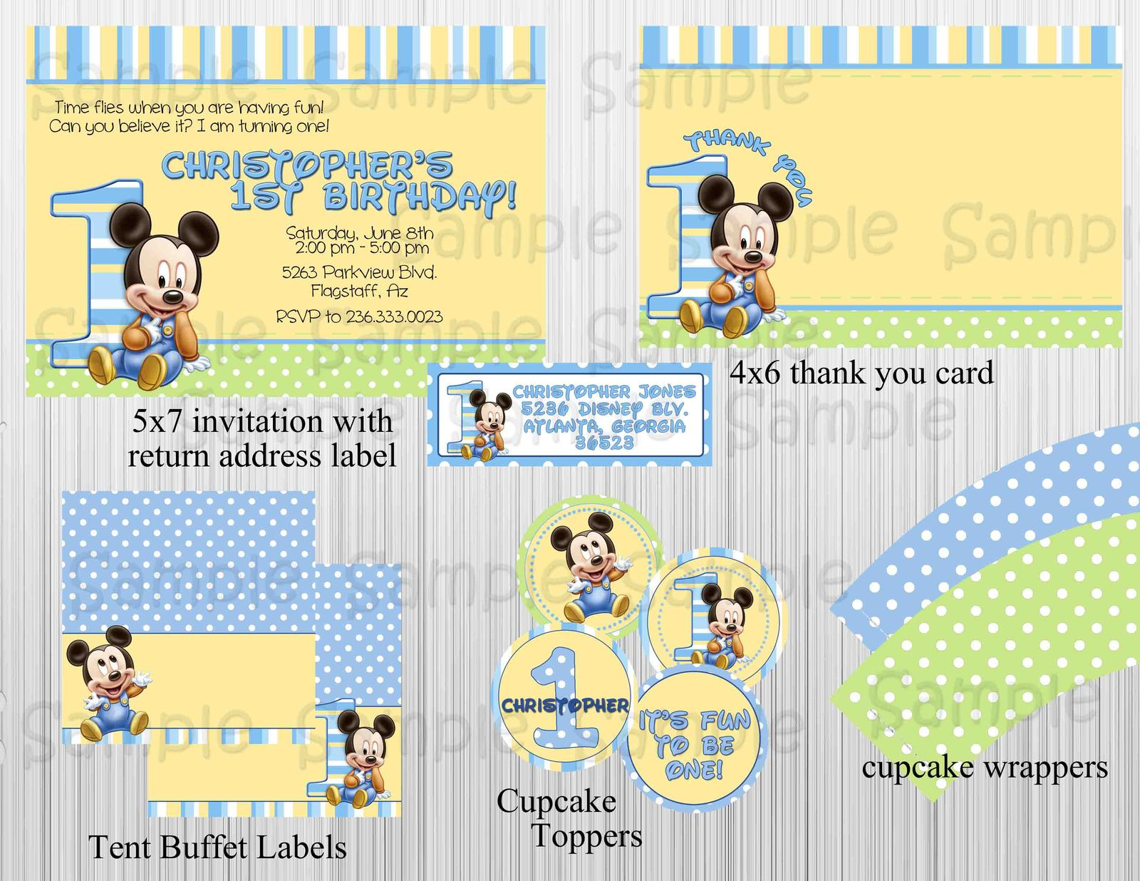 Mickey Mouse Baby Items Lookup Beforebuying