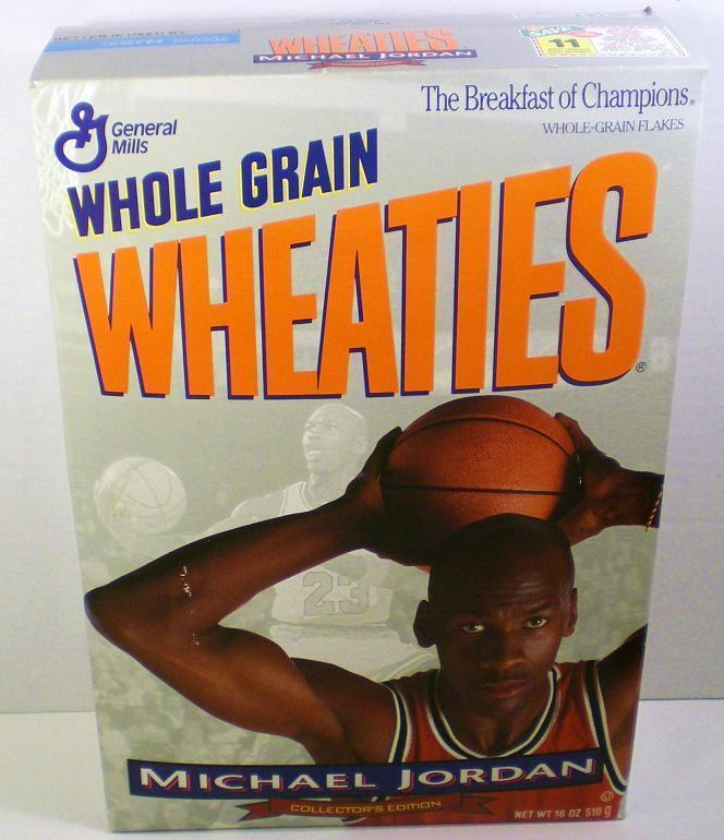 Michael Jordan 1994 unopened Wheaties Cereal Box